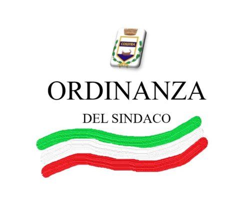 Ordinanza Sindacale n. 107 del 29 Ottobre 2020