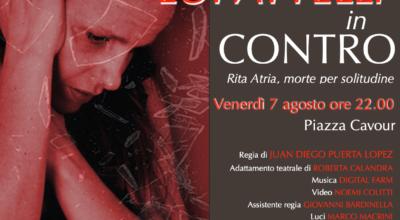 """Il grande teatro: Livia Lupattelli in """"CONTRO"""""""