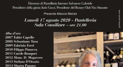 17 agosto: PREMIO DA PANTELLERIA