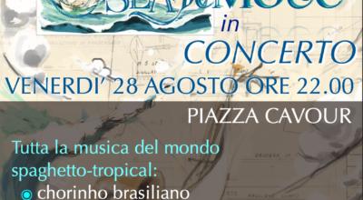 28 agosto: SEABEMOLLE IN CONCERTO – MUSICA DAL MONDO SPAGHETTO-TROPICAL