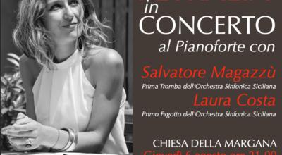 Stasera Concerto di Sinforosa Petralia alla Chiesa della Margana