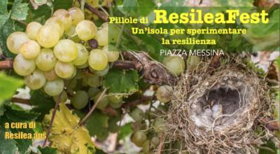 27 agosto: Pillole di RESILEA FEST a Piazza Messina