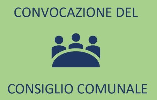 Convocazione Consiglio Comunale