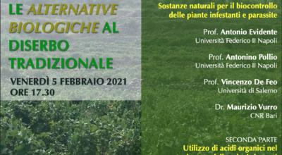 A Pantelleria si parla di diserbo e agricoltura sostenibile venerdì 5 febbraio