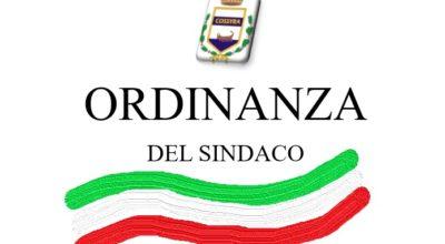 Ordinanza Sindacale n. 112 del 07 Novembre 2020