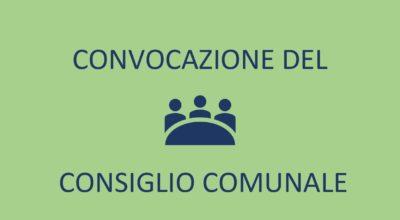 Convocazione Consiglio Comunale 05 Novembre 2020